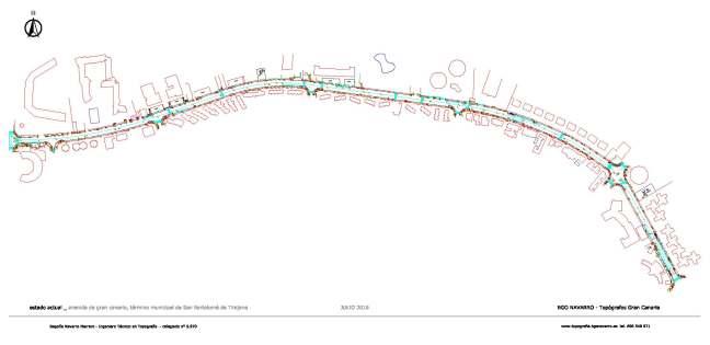 Levantamiento Topográfico Renovación De Viales Bgo